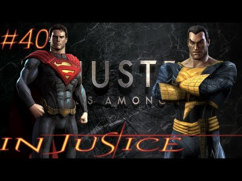 InJustice: Superman vs Black Adam