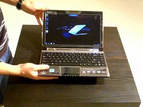 Eee PC Lamborghini VX6 Netbook Hands-on Review