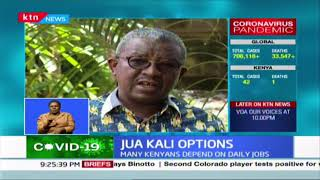 Kenyans in the Jua Kali, day to day informal sector weigh their options