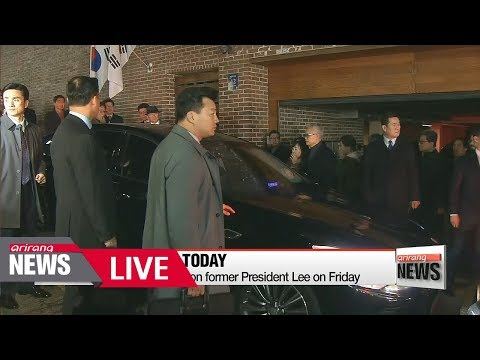[LIVE/ARIRANG NEWS] Former President Lee Myung-bak detained following arrest on corruption charges