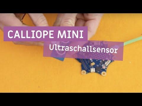 Calliope mini - Ultraschallsensor