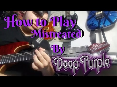 how to play in too deep on guitar