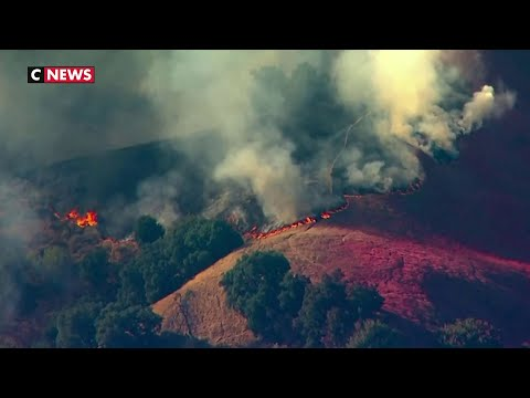 Incendies en Californie : 100.000 évacuations Incendies en Californie : 100.000 évacuations