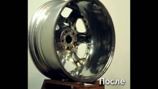 Зеркальная полировка колпачков и дисков Bentley R20 от Bentley Continental GT