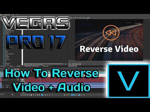 Vegas Pro 17 Tutorial | How To Reverse Video + Audio