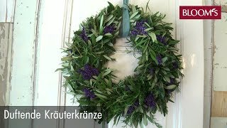 Kräuterkranz | DIY Sommerdeko | Summer Decoration | BLOOM's Floristik