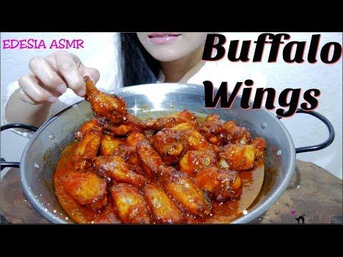 ASMR 咀嚼音 Korean Fried Chicken (Yangnyeom Chicken) ヤンニョムチキン 韓式辣醬炸雞 양념치킨 먹방 *EATING SOUND*