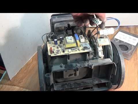 Ремонт пылесосов.Часть 2 LG двигатель