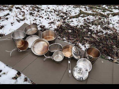 Töpfe (Edelstahl) für die Outdoorküche - Praxistest (Teil 2)