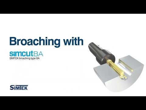 simcut BA - broaching applications