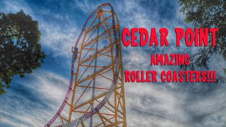 Cedar Point VLOG - 16 Roller Coasters in Sandusky, Ohio - Very unOfficial Travel Guides