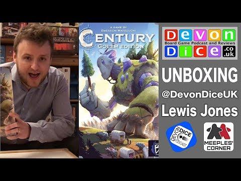 Unboxing Century: Golem Edition By Lewis Jones, Devon Dice