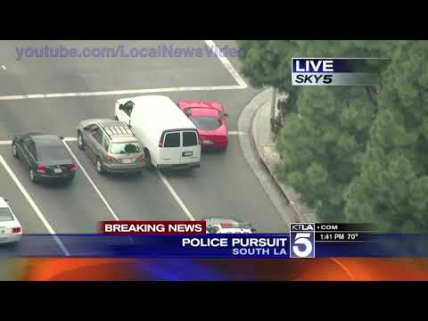 Wild Police Chase – South Los Angeles – Go Tactical
