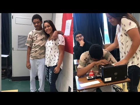 Classmate Cries When Teen Uses First Job Money To Buy Him Sneakers