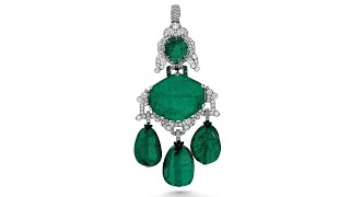 Exquisite Emerald Jewels And Classic Art Deco Cartier