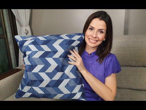 TV Mãos à Obra ensina a fazer capa de almofada sem costura