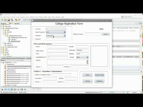 Download Java How To Design Login And Register Form In Java