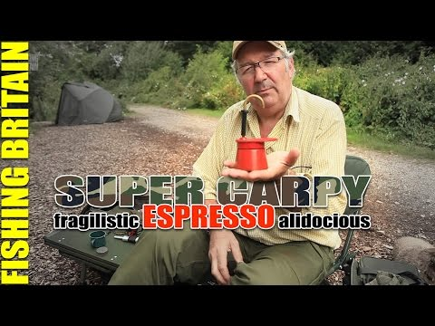 How to make fresh espresso while carp fishing