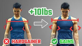 How To Pack On 10lbs Of Muscle As A Hardgainer (STEP-BY-STEP PLAN)