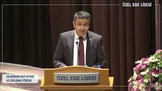 Özel Ege Lisesi Kurucu Temsilcisi Yansı Eraslan 28. Dönem Mezuniyet Töreni Konuşması