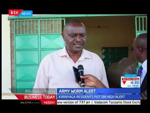 Kirinyaga residents put on high alert
