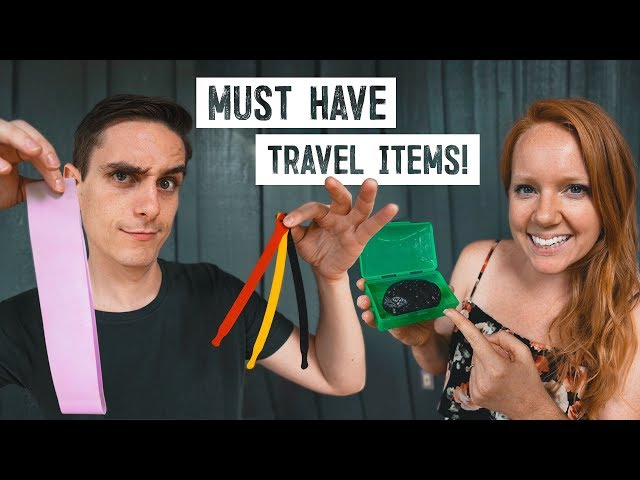 Our Top Travel Items & Gadgets After 4 YEARS OF TRAVEL! - 2019 Travel Packing Guide