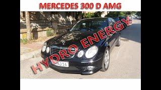 Mercedes 300 D hidrojen yakıt sistem montajı