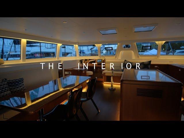 HH 55 Catamaran 2019 Model Interior Review with Scott Rocknak Part 1
