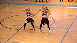 Österr. HIP-HOP-Meisterschaften 2015 - DUO Hannah & Johanna