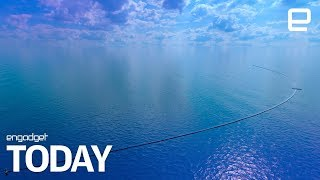Great Pacific Garbage Patch cleanup has begun | Engadget Today