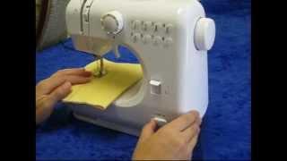 Швейная  машинка  многофункциональная 12 в 1 портативная Michley LSS FHSM-505 А от компании ТехМагнит - видео