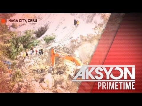 [News5]  Mga namatay sa landslide sa Naga City, Cebu, pumalo na sa halos 60