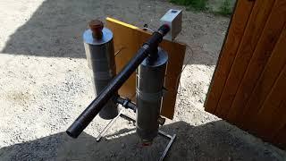 Дымогенератор для холодного копчения с охладителем