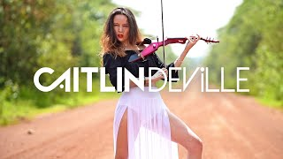 Rockabye Clean Bandit ft Sean Paul Anne Marie Electric Violin Cover Caitlin De Ville Video