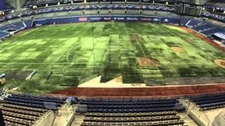Baseball Conversion at the Alamodome