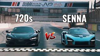 Drag Race: McLaren Senna vs. 720S | Nico Rosberg | Vlog