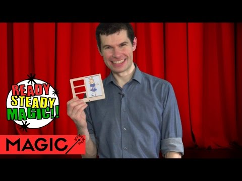 Zig Zag Girl Illusion Cartoon Magic | Ready Steady Magic