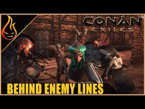 Hunting The Panda Clan Conan Exiles Server Play Ep2