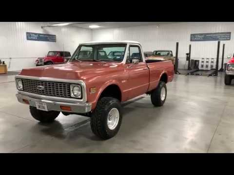 Video of Classic 1972 Chevrolet K-10 located in Holland  Michigan - QB26