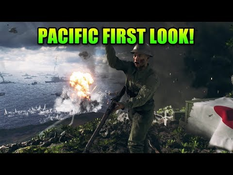 Pacific Theater First Look & 5 New Maps! | Battlefield 5