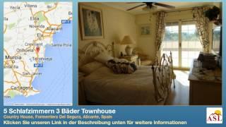 preview picture of video '5 Schlafzimmern 3 Bäder Townhouse zu verkaufen in Country House, Formentera Del Segura, Alicante'