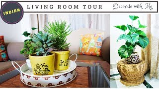 Indian Living Room Decorating Ideas | How To Decorate Small Living Room | Living Room Tour
