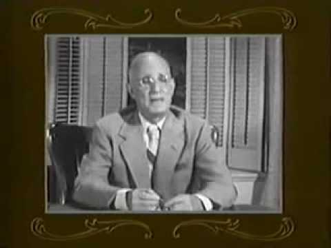 Original footage of Napoleon Hill