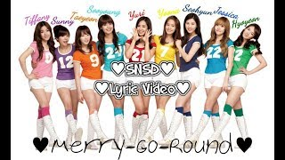 SNSD Lyric Video - Merry-Go-Round
