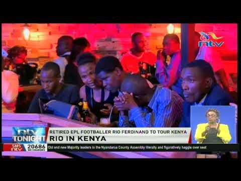 Retired EPL footballer Rio Ferdinand to tour Kenya