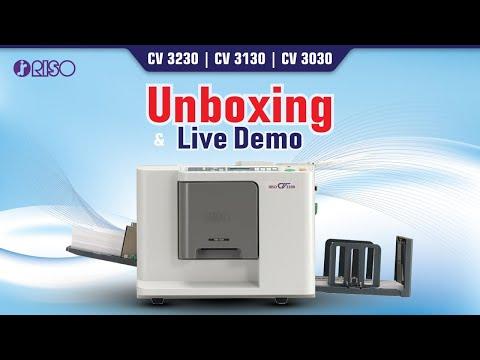 Riso Digital Duplicator CV 3030 A4 Size Copy Printer Mini Offset Machine