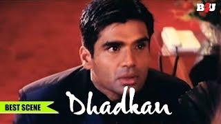 Anjali Mein Tumhe Bhool Jaun | Dhadkan Movie Iconic Dialogues By Suniel Shetty | Emotional Scene
