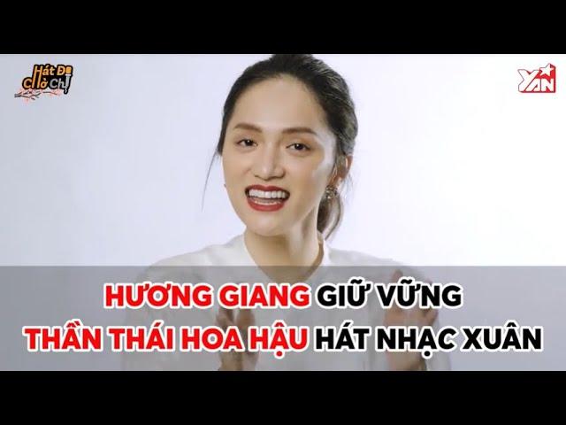 """Hương Giang """"âm thầm"""" bên Sơn Tùng M-TP, """"đu đưa"""" cùng Bích Phương trong thử thách hát"""