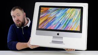 Распаковываем iMac 21.5 за 107000 рублей и ставим macOS 11 Big Sur. Как она там вообще работает?