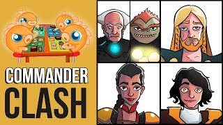 Commander Clash S6 E11: Superhero Week! (Jodah vs. Ragnar vs. Sisay vs. Ludevic & Vial Smasher)